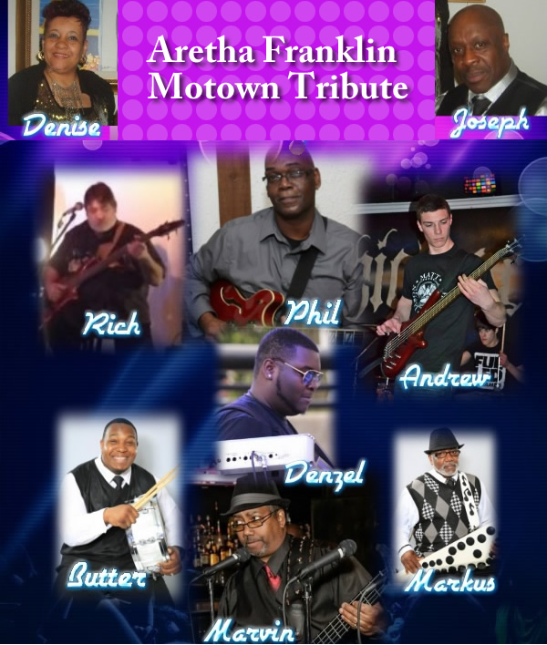 Aretha Franklin Motown Tribute Show