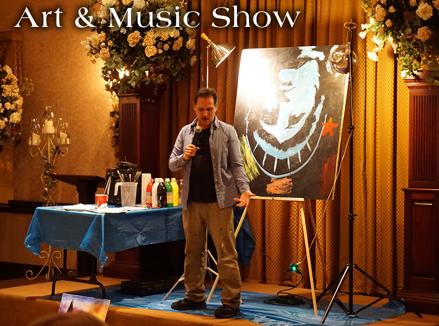 art and music show